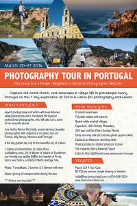 Photography Tour in Portugal March 2014